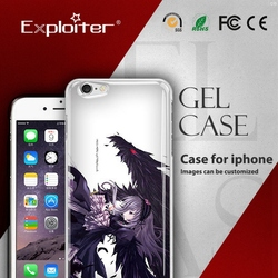 Exploiter customised hand phone hot sell back cover for iphone6