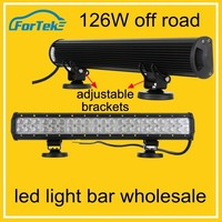 2015 new product aluminum housing 126w led light bar led light bars for trucks wholesale top quality led light bars for trucks