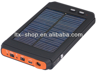 high capacity portable 12v battery solar charger outdoor for android