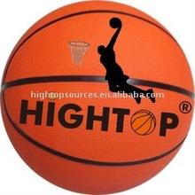 Official Size custom cheap rubber basketball ball