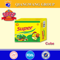 10g*10*120 NEW 10G BAG PACKING CHICKEN BOUILLON CUBE SEASONING CUBE SOUP CUBE(SUPPLY ALIBABA TRADE ASSURANCE)