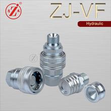 ZJ-VF medium pressure carrbon steel hydraulic hose hydraulic nipple connector