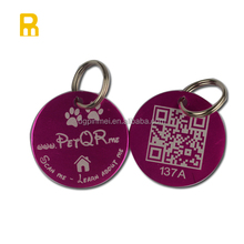 ID Tags Collar & Leash Type and Dogs Application Anodized Pet Tags