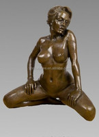 nude naked sexy girl statue