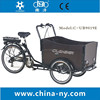 hot sale UB9019E three wheels Electric cargo bike tricycle