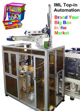 IML robot arm special fixture machine line 20L Plastic Bucket/ Pail/ Barrel/ Drum for oil and paint