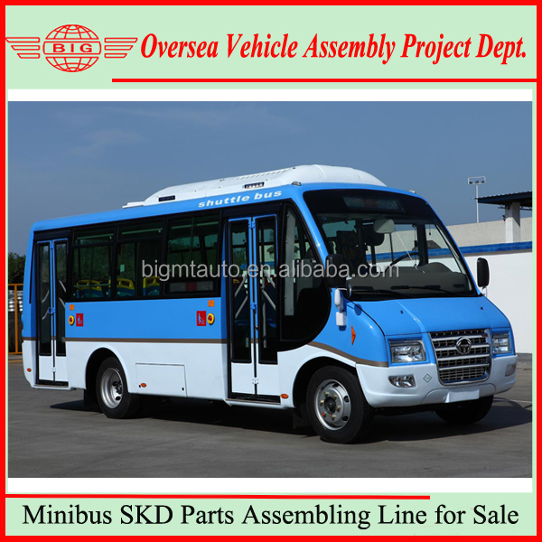 19 Seats School bus Passenger Bus Assembly Line Design Service.jpg