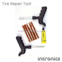 Car Auto Tubeless T-Handle Tire Repair Kit Plug Hand Tool