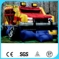CILE High Quanlity Inflatable Wheels Castle Combo Jumper for Kids with CU/UL Blower