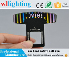 Car Seat belt clip/car Safety seat belt buckle /car logo belt buckle