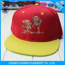 Hot Sale Fashion Simple Embroidery Wholesale Custom Printed Blank Flat Printed Plain Dyed Snapback Cap