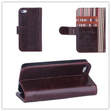 New Fashion PU Leather Wallet Card Holder Cell Phone Case For iphone 5 5S