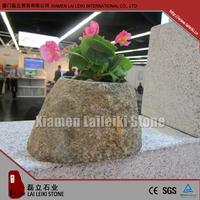 Indoor Marble Polished Bonsai Pots For Desk