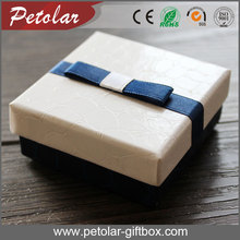 new style cardboard jewelry gift box supplier