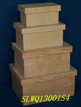 hot sell special wooden food packaging box