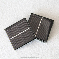 Epoxy resin encapsulated 5V 100ma 65*65mm Small Solar Panel