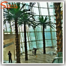 latest style hot sale top quality decorative metal tall artificial palm tree for sale