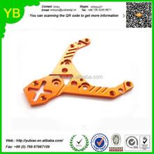custom OEM Car racing parts,CNC Metal roof upper frame plate for truck
