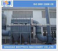 DMC36 workshop dust collector, cyclone cement plant, filter folder