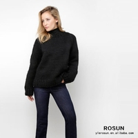 oversized sweater,no brand clothing , full package apparel manufactrers China