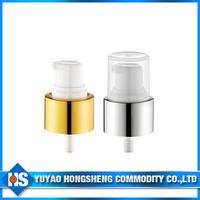 24mm Transparent PP Powder Cream Pump with Alimina