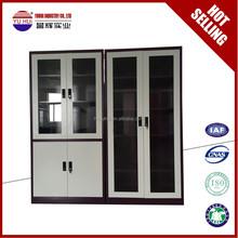 4 adjustable shelves customized chrome filing cabinet