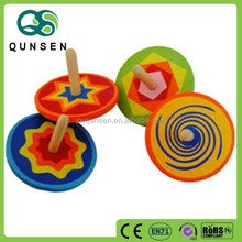 wooden kids toy spinning top toy Manufactures