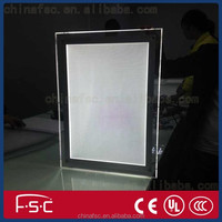 Stand up crystal picture frame