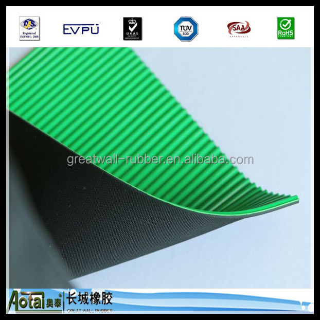 5kv-50k High Voltage Smooth & Ribbed Pattern Flexible Insulation Electrical Rubber Sheet With Reach ROHS Certificate