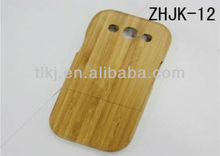 For Samsung galaxy s3 i9300 bamboo case