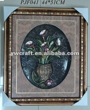 Flower Picture Wood Frame For Halloween