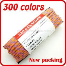 unique style mix color paracord factory direct sales