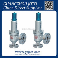 ANSI A42Y DN50 PN16 Sring Full Enclosed surge relief valve
