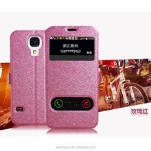 Note4 Leather cellphone case/window view flip
