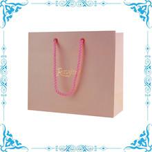 beautiful recyclable paper bag, beautiful Lingerie shopping bag