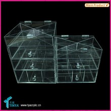China Shelving Supplier Bedroom Furniture New Product Recycled Plastic Drawer Storage Box