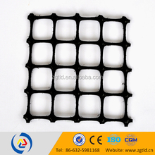 GG5050 pp biaxial geogrid improve long term performance and reduce cost in road construction