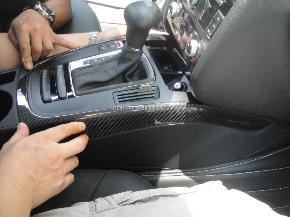 Fibre de carbone int rieur garnitures pour audi a4 b8 2012 for Audi a4 onderdelen interieur