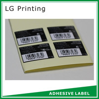 adhesive labels for tires