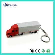 Hot sales promotional Full capacity truck shaped 128 gb usb flash drive 3.0,pendrive 16gb,8gb usb flash drive bulk