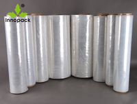 transparent LLDPE plastic stretch wrap film shrink film for cargo packing