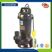 WQ series submersible 1.5 hp water submersible pump