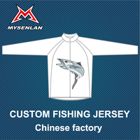 custom fishing shirt/fishing jersey from clothing manufacturer