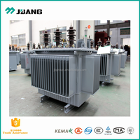 Oil insulation 11 /0.4kV electrical transformer 250kVA for power project