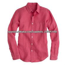 mens puro camisa de vestir ropa de color sólido