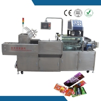 Automatic filling and high packing efficiency pancake box hot melt glue machine