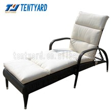 2015 new white lounger cushion,elegant outdoor and indoor exquiteness sun lounger,comfortable cushion