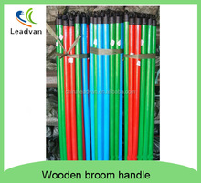 Plastic broom stick with pvc cover