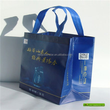 Cheap plastic hand bag for shopping /non woven bag