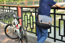 2015 new leather augur canvas bags chest pack & messenger bag